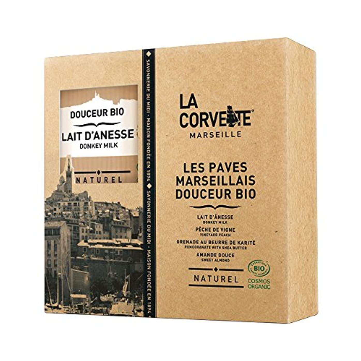 経過アジア人世紀La Corvette(ラ?コルベット) ラ?コルベット ビオソープギフトボックス