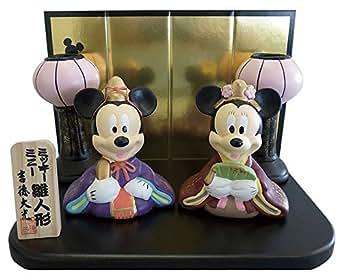 ディズニー雪洞付ミニ雛人形