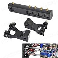 NICECNC Black ATV Front & Rear Lowring Kit Lower Link for Banshee 350 YFZ350 1987-2008 Warrior 350 YFM350 X 1987-2004 [並行輸入品]