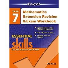 Excel Essential Skills: Mathematics Extension Revision & Exam Workbook Year 7