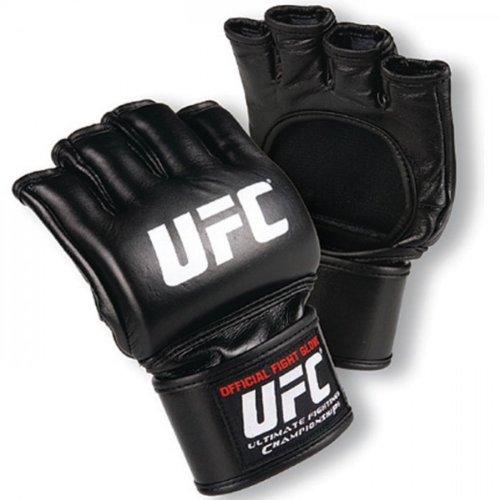 UFCメンズ公式ファイトグローブ、ブラック 4X-Large ブラック