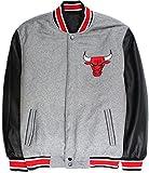 エヌビーエー NBA Chicago Bulls シカゴ・ブルズ リバーシブル スタジアム ジャケット メンズ ファッショ