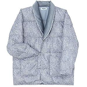 [グンゼ] ルームウェア 羽毛 長袖ジャケット SK4628 メンズ グレー 日本 M (日本サイズM相当)