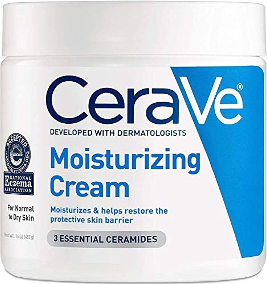 明確なハングマージンCerave Moisturizing Cream, 16 oz [並行輸入品] -2 Packs