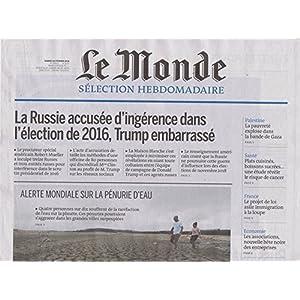 Le Monde Selection [FR] No. 3616 2018 (単号)