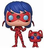 Funko - Figurine Miraculous - Ladybug & Tikki Pop 10cm - 0889698286374