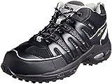 [シモン] 作業靴 短靴 スニーカー  静電 エアースペシャル3000 クロ 26 cm 3E