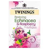 1パックトワイニングエキナセア&ラズベリーティーバッグ20 (x 2) - Twinings Echinacea & Raspberry Tea Bags 20 per pack (Pack of 2) [並行輸入品]