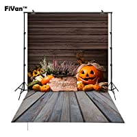 Backdrop with Ground for Halloween ParyホームまたはStudio Kids画像ビニールプラスチックcost-effective Hallowmasのデコレーション背景