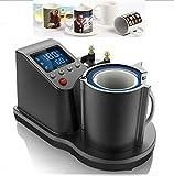 ECO-WORTHY 知能的自動エアー式 マグカップ/眼鏡 熱転写機 業務用
