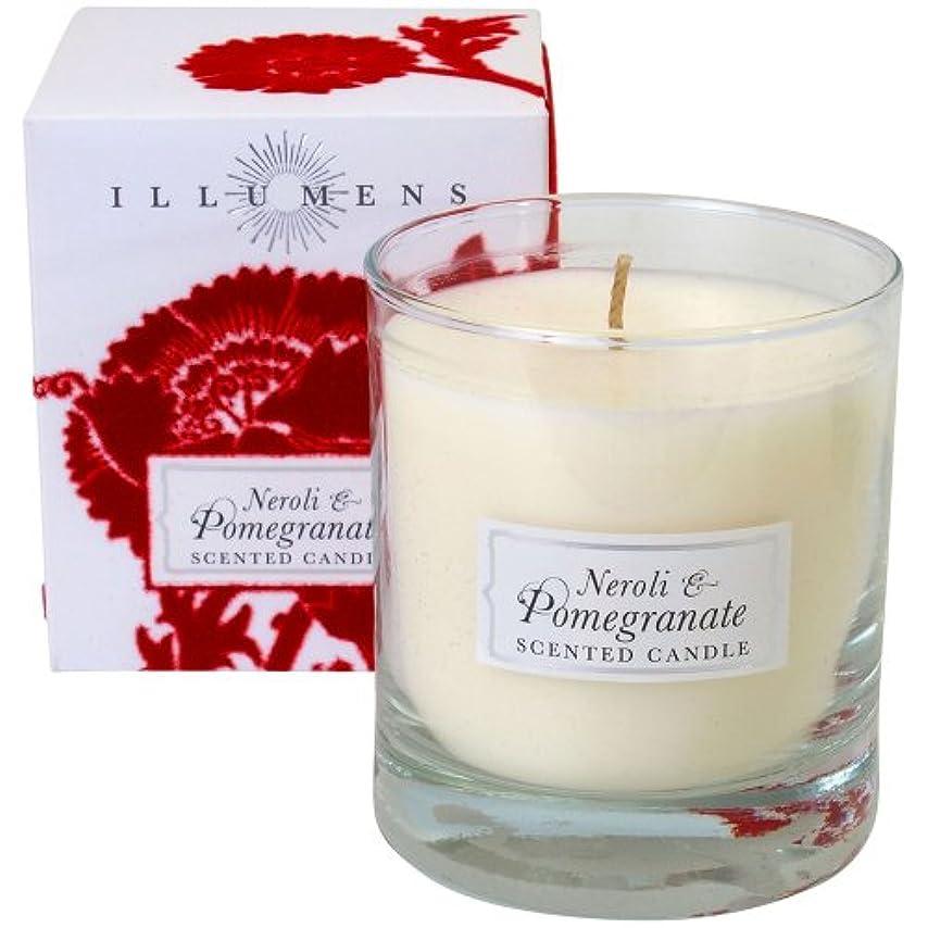 中級ある誤解させるILLUMENS キャンドル Neroli & Pomegranate