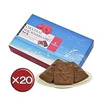 石垣の塩 ショコラ・マカダミアサブレ8個 20箱セット