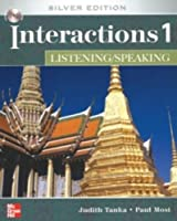 Interactions Level 1 Listening/Speaking Class Audio CDs (4)
