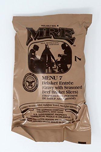 米軍戦闘食 MRE caseA 2021年4月検品