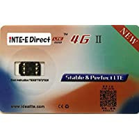 iNTE-E Direct 【自動解除】【音声通話/4G-LTE通信対応】 4G+ Au、SoftBank、DocoMoのiPhone7/7 Plus/6S/6S Plus/6/6 Plus/5S/5c/5/se SIMロック解除アダプタ/SIM Unlock アンロック SIMフリー iNTE-4231iDEAL
