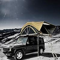 土地パトロール折りたたみ屋根テント屋外5人家族車自動運転ツアーキャンプカーテント、A