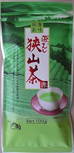 茶の大胡 狭山茶 赤 100g