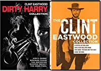 Clint Eastwood Collection Western The Man with no Name + The Dirty Harry Complete Series 9 Movie DVD Set