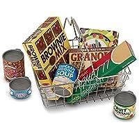 Melissa & Doug Grocery Basket with food LCI5171
