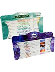 Value Gift Set of 96 Incense Sticks - Moods and Aromatherapy by Stamford by Stamford and Tulasi