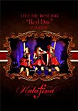 """Kalafina LIVE THE BEST 2015 """"Red Day"""" at 日本武道館 [DVD]"""