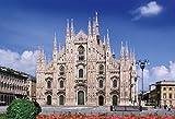 300ピース ジグソーパズル めざせ! パズルの達人 世界の風景 ミラノのドゥオーモ - イタリア(26x38cm)