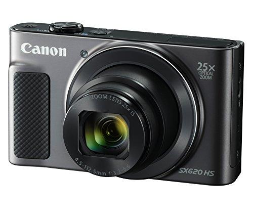 Canon (キヤノン) コンパクトデジタルカメラ Power Shot SX620HS ブラック 光学25倍ズーム PSSX620HS(BK) B01FH4H5S8 1枚目
