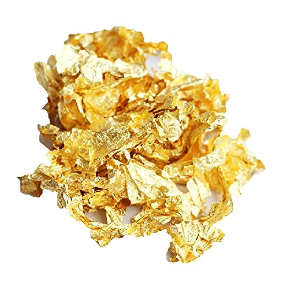 単なるインペリアル給料手作り石けん用純金箔0.1グラム
