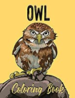 Owl Coloring Book: Adult Coloring Book With Owls Illustrations for Stress Relief and Relaxation