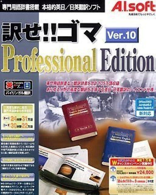 藤色一流悲しむ訳せ!!ゴマ Ver.10 Professional Edition キャンペーン版