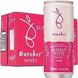 バロークス(Barokes) スパークリング缶ワイン ロゼ 250ml×24本 ケース販売
