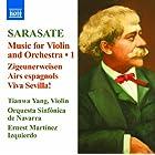 サラサーテ:ヴァイオリンと管弦楽のための作品集 第1集
