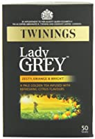 Twinings Lady Grey Tea 50 Teabags (Pack of 4, 200 Teabags)
