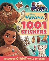 MOANA: 1001 Stickers (1001 Stickers Disney)