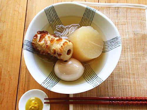 三つ足 エレガント 煮物鉢 16.7cm 【 和食器 おでん皿 中鉢 日本製 美濃焼 変形 深皿 浅鉢 手書き風 】