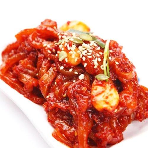 【★クルー便】いかの塩辛 500g■韓国食品■韓国キムチ/おかず■自家製