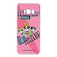 パワーパフガールズ Galaxy S8 SCV36 ケース クリア ハード プリント デザインE-C (ppg-023) スリム 薄型 WN-LC408817