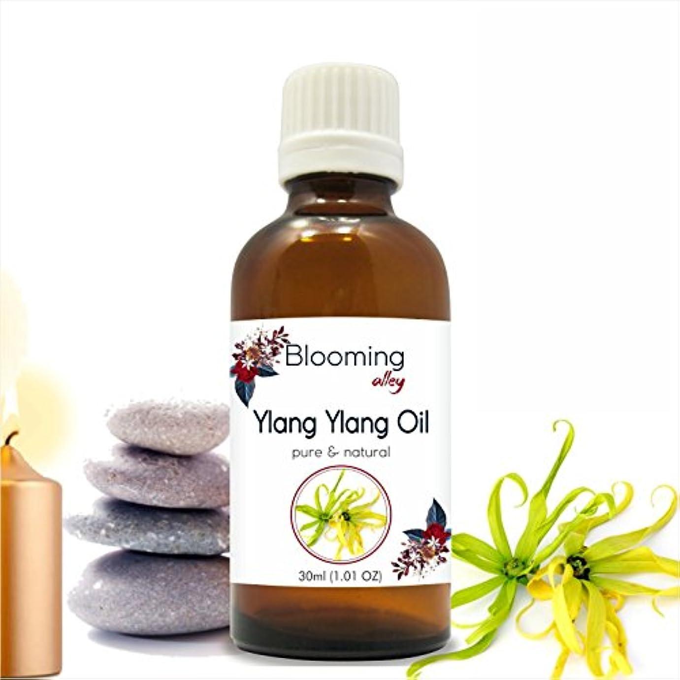 証人誤解させる息子Ylang Ylang Oil (Cananga Odorata) Essential Oil 30 ml or 1.0 Fl Oz by Blooming Alley