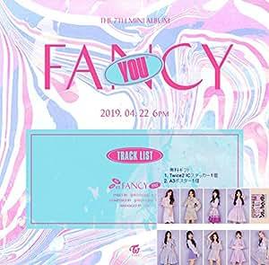 トワイス/TWICE - FANCY YOU [B ver.] (7th Mini Album) CD+PHOTOBOOK+FANCY STICKER+予約販売特典(Photocard Set)+Folded Poster [韓国盤