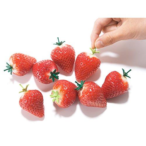 いちごやトマトだけじゃない。あんなものやこんなものにもヘタが生やせる!?ヘタの形のピック「ヘタヨウジ」