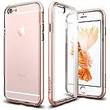 【Spigen】 iPhone6s ケース / iPhone6 ケース, ネオ・ハイブリッド EX [ 二重構造 スリム フィット ] アイフォン6s / 6 用 カバー (iPhone6s, ローズ・ゴールド【SGP11725】)