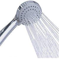 シャワーヘッド、高圧力3設定ハンドヘルドシャワーヘッドホース、ブラケットとテフロンテープ