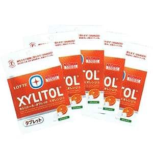 キシリトール タブレット オレンジ 35g × 5袋