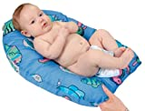 Leachco Safer Bather Infant Bath Pad, Blue Fish by Leachco [並行輸入品]