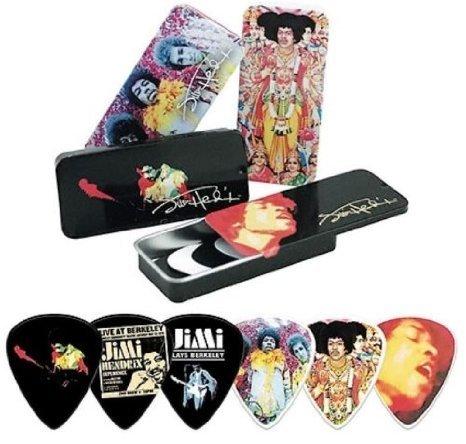 【 並行輸入品 】 Dunlop JH-PT24 Jimi Hendrix Collector Series Pick Tins Display - 288 ピック