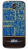 YESNO エレクトロボード ブルー (クリア) / for STREAM 201HW/WILLCOM WHW201-PCCL-201-N192