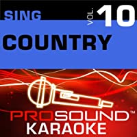 Sing Country Vol. 10 [KARAOKE]