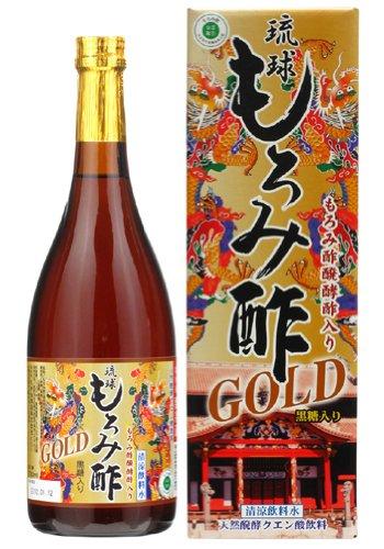 琉球もろみ酢 ゴールド 黒糖入り 720ml