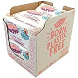 Organic Baby Wipes by Jackson Reece - Unscented Biodegradable & Compostable Plastic Free Baby Wipes, 672 Count (12 Packs of 5