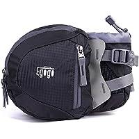 EGOGO Travel Sport Waist Pack Fanny Pack Bum Bag Hiking Bag with Water Bottle Holder S2209